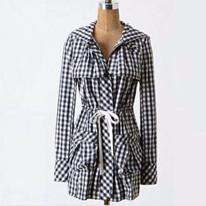 Daughters of the Liberation gingham rain jacket